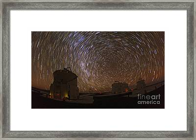 Southern Sky Rotation Framed Print by Babak Tafreshi