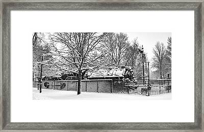 Southern Snow Bound Framed Print by Alan Look