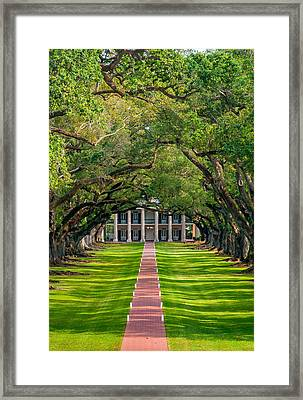 Southern Time Travel Framed Print