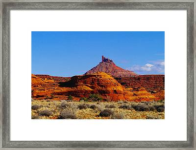 Southern  Utah Framed Print by Jeff Swan