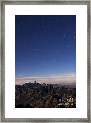 Southern View From Kitt Peak Framed Print by Babak Tafreshi