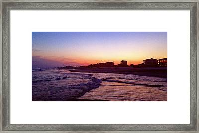 Southern Waters I Framed Print