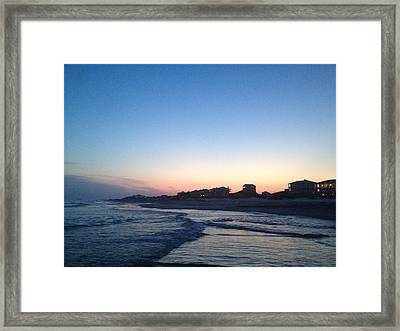 Southern Waters II Framed Print