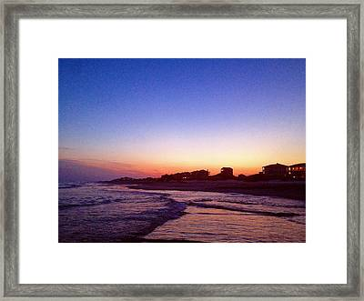 Southern Waters IIi Framed Print
