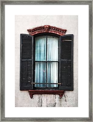 Southern Window Framed Print