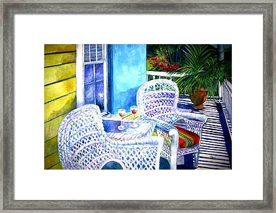 Southernmost Happy Hour Framed Print