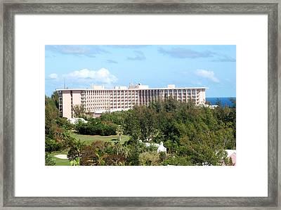 Southhampton Princess Bermuda Framed Print by Ian  MacDonald