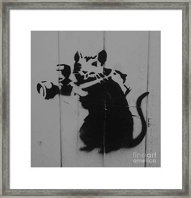 Southport Mouse Framed Print by C Lythgo