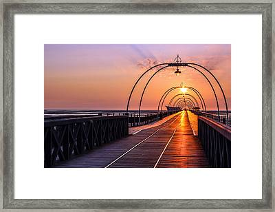 Southport Pier Framed Print by Paul Madden