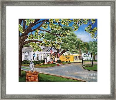 Southport Tea House Framed Print