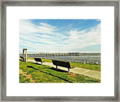 Southport Waterfront Framed Print
