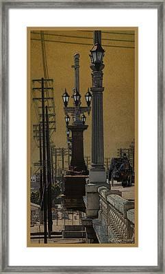 Southside Bridge Framed Print by Bill Jonas