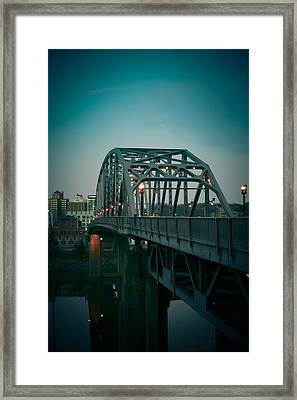Southside Bridge  Framed Print by Shane Holsclaw