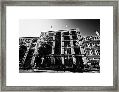 southwark london borough council headquarters London England UK Framed Print