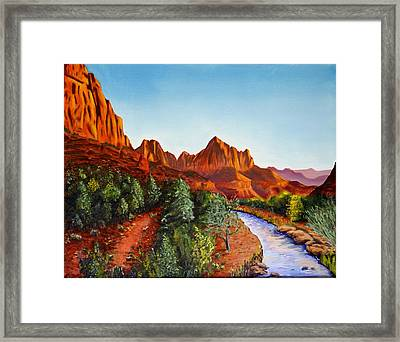 Southwest Afternoon Framed Print