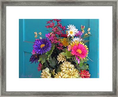 Southwest Flowers Framed Print