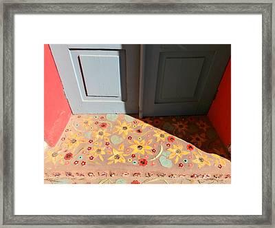 Southwest Mosaic Doorway Framed Print by Karyn Robinson