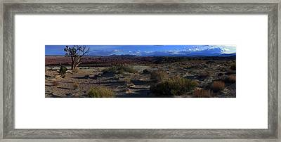 Southwest Snake Canyon Framed Print by Maria Arango Diener