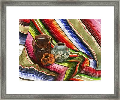 Southwest Still Life Framed Print