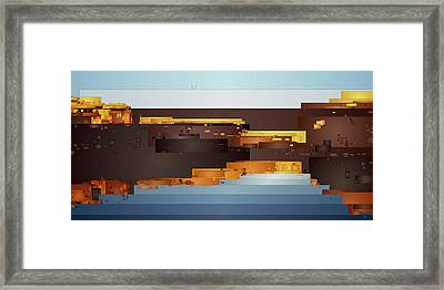 Southwest Sunrise 1 Framed Print
