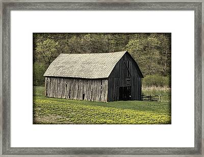 Southwest Wisconsin Barn Framed Print by Thomas Young