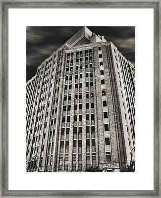 Southwestern Bell Telephone Building - San Antonio Texas Framed Print by Wendy J St Christopher