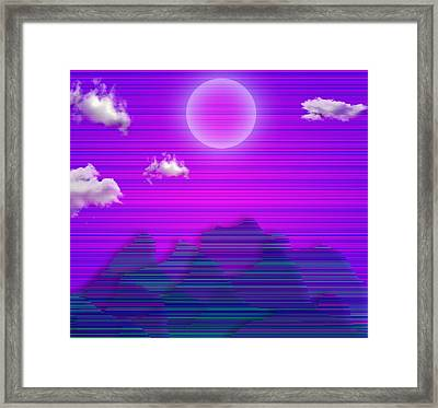 Framed Print featuring the digital art Southwestern II by Bruce Rolff