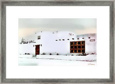Southwestern Pueblo  Framed Print by Barbara Chichester