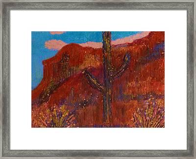 Southwestern Splendor Memories Framed Print