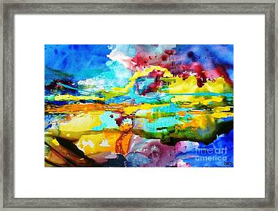 Southwestern Sunset Framed Print by Robert Stagemyer