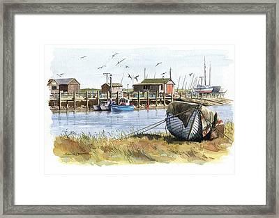 Southwold Framed Print by Colin Parker