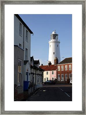 Southwold Lighthouse Framed Print by Tony Webb
