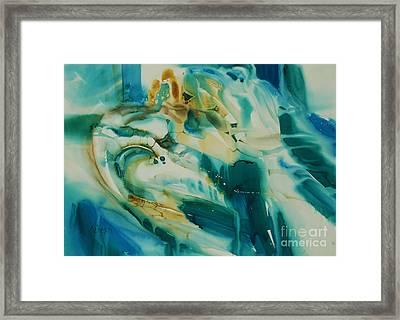 Souvenir D'afrique Framed Print by Donna Acheson-Juillet