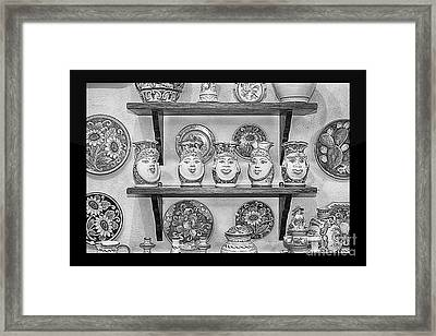 Souvenir From Sicily Framed Print by Stefano Senise