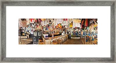 Souvenir Shop, Jost Van Dyke, British Framed Print by Panoramic Images
