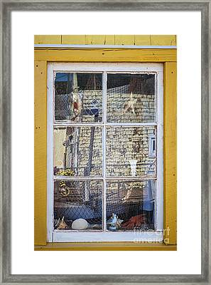 Souvenir Store Window Framed Print by Elena Elisseeva