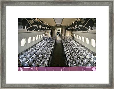 Soviet Tu-155 Experimental Airliner Framed Print by Science Photo Library