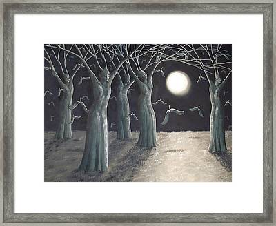 Sowing Seeds Framed Print by Anna Roberts