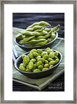 Soy Beans  Framed Print