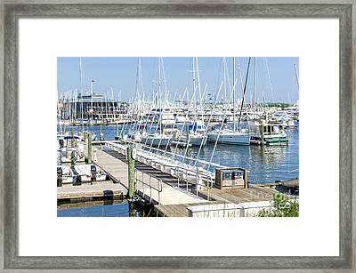 Spa At 6th Street Framed Print by Charles Kraus