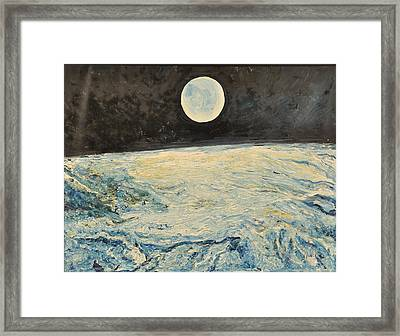 Space Absraction-10 Framed Print by Anand Swaroop Manchiraju