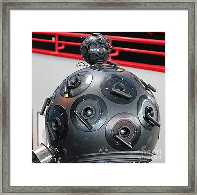 Framed Print featuring the photograph Space Balls by Cynthia Snyder