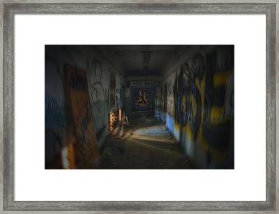 Space Bound Framed Print by Kenny Noddin