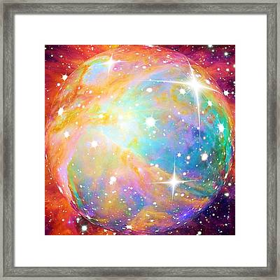 Framed Print featuring the photograph Space by Elizabeth Budd