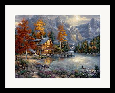 Christian Artist Framed Prints