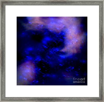 Space Jam Framed Print by Gayle Price Thomas