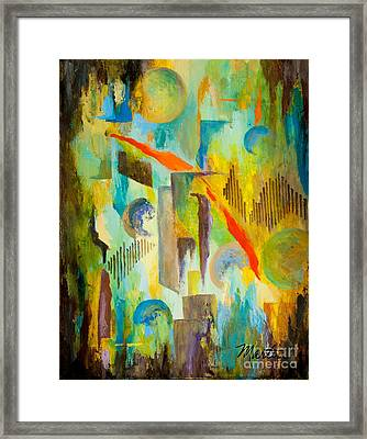 Space Jam Framed Print by Larry Martin