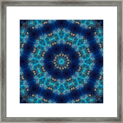 Space Kaleidoscope Framed Print by Pete Trenholm