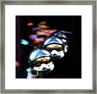 Space Light Framed Print by Mieczyslaw Rudek