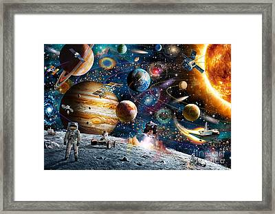 Space Odyssey Framed Print by Adrian Chesterman